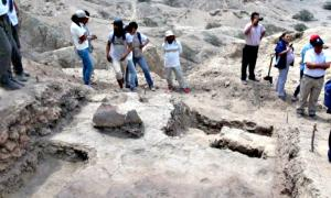 Portada - Parte de las ruinas recientemente descubiertas en Cerro Luya. (Fotografía: Arqueología del Perú)