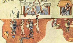 Portada - Detalle de un mural del Templo de los Guerreros de Chichén Itzá. (Celticnz)