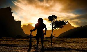 Portada - Hombre prehistórico (ginettigino/Adobe Stock)