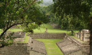 Cancha de Juego de Pelota en Copán, Honduras