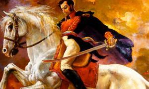 Simón Bolívar, Libertador.