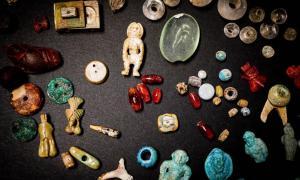 El tesoro de joyas y encantos encontrados en Pompeya puede haber sido utilizado para la brujería romana. Fuente: Parque Arqueológico de Pompeya / Uso justo.
