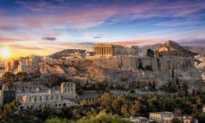 La Acrópolis de Atenas. Fuente: moofushi/ Adobe Stock.