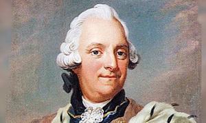 Retrato de Adolf Frederick de Suecia.