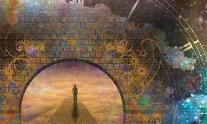 el viaje de la vida en muchas creencias y religiones antiguas es también el viaje del alma humana.
