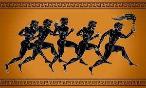 Las Olimpiadas griegas antiguas fueron un aspecto fundamental de la cultura griega antigua. Varios juegos de carreras tuvieron lugar durante los juegos, junto con deportes ecuestres y deportes de combate. Fuente: sebos / Adobe Stock