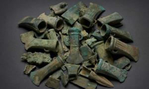 Armas y herramientas de la Edad del Bronce encontradas en Havering, Londres. Fuente: Museo de Londres.