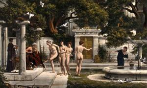 Asclepio, el dios griego de la medicina, y los centros de Asclepio que existieron en Grecia, Asia Menor y Judea durante casi 1000 años, alcanzaron fama mundial. Pero, ¿por qué fueron tan populares?Y qué nos pueden enseñar hoy? (Imágenes de Bienvenida / CC BY 4.0)