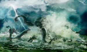 El monstruo marino de Ayia Napa nunca se ha fotografiado, pero se dice que vive en las aguas alrededor de Cabo Greco.