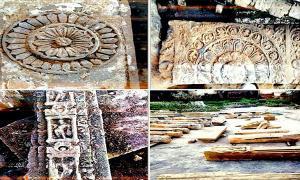 Descubrimientos realizados en el sitio de excavación de Ayodhya. Fuente: Shri Ram Janmbhoomi Teerth Kshetra Trust