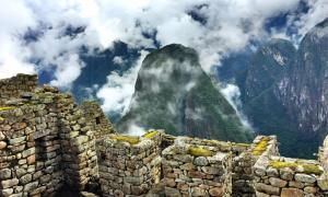 Vista en Machu Picchu, probablemente el asentamiento inca más famoso registrado por el modelo de arqueología de big data. Fuente: fife76 / Dominio público