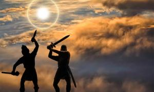 Sword fight. Crédito: Oleksandr/ Adobe Stock