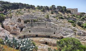 El anfiteatro romano de Cagliari Fuente: murasal / Adobe Stock