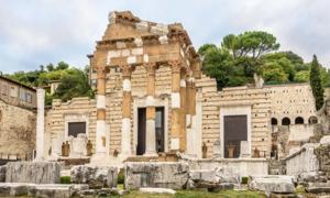 El templo del Capitolio Fuente: milosk50 / Adobe Stock
