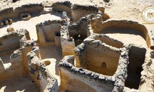 Las antiguas ruinas cristianas recién descubiertas en Egipto.