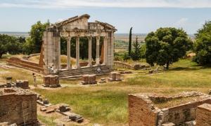 Ruinas de Apollonia, Albania Fuente: lic0001/ Adobe Stock
