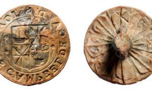 Matriz de sellos del clan Campbell de Sir John Campbell de Cawdor. Fuente: Sarah Lambert-Gates y Darko Maricevic ̌ / Antiquity Publications Ltd