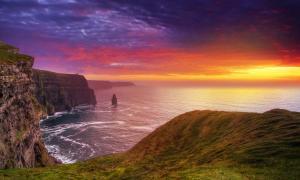 Acantilados de Moher, Irlanda. ¿Es Irlanda la legendaria Atlántida? Fuente: Yaroslav / Adobe Stock