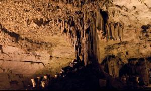 cueva descubierta cerca de Chichén Itzá, Yucatán.