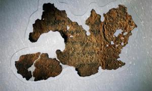 Una nueva investigación científica sobre los 16 supuestos fragmentos del Rollo del Mar Muerto en el Museo de la Biblia ha confirmado que todas son falsificaciones modernas. Fuente: Fotografía de Rebecca Hale, personal de NGM