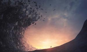 antiguos tsunamis destruidos y asesinados. Fuente: Kevin Carden/ Adobe Stock.