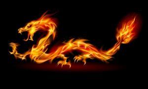 en Asia, el dragón es también un símbolo ambivalente que representa el Yin y el Yang. (Dvarg / Adobe)