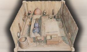 La tumba apodada el entierro de Prittlewell, contenía 40 artefactos, incluidos tesoros de otros reinos. Fuente: MOLA