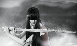 Representación de una guerrera mongol / la legendaria Mulan. Fuente: katalinks / Adobe stock