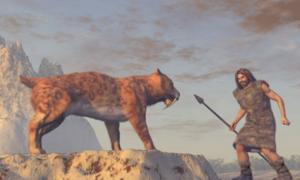 los humanos antiguos competían con animales feroces por la cueva Denisova. Fuente: anibal / Adobe Stock.