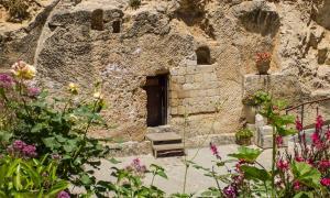 The Garden Tomb, tumba de roca en Jerusalén, Israel