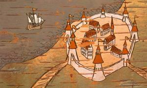 Comercio marítimo medieval. Crédito: Yury Kisialiou/ Adobe Stock
