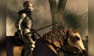 Caballero medieval. Fuente: Daniel / Adobe Stock