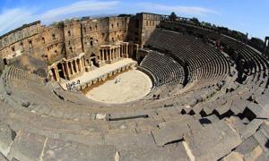 El teatro de Bosra, Siria (CC by SA 3.0)