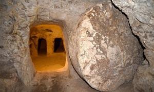 """¿Realmente el arqueólogo Ken Dark """"encontró"""" el hogar de la infancia de Jesucristo? La imagen muestra parte del sitio arqueológico debajo del Convento de las Hermanas de Nazaret en Nazaret, Israel."""