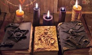Libros islandeses de magia, libros de ocultismo.