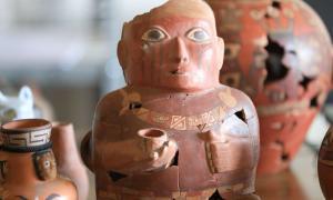 la cerámica da evidencia de los primeros imperios de Perú Fuente: Andina / Juan Carlos Guzmán Fair Use