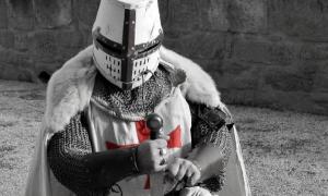 Las teorías de conspiración de los Caballeros Templarios han existido durante 900 años. Fuente: maria / Adobe Stock