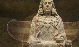 La Dama de Baza, un famoso ejemplo de escultura ibérica de los bastetanos, ha sido durante mucho tiempo motivo de controversia.