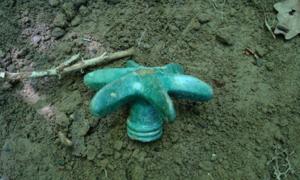 La cabeza de maza de bronce, que se encuentra cerca de Dukla. Fuente: Zawiadowca Historii / Fair Use.