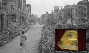 Dos manuscritos del visionario, escritor y compositor St. Hildegard de Bingen (1098-1179) sobrevivieron a los bombardeos de Dresde después de que un bibliotecario los escondió en una bóveda bancaria. Fuente: Deutsche Fotothek / CC BY-SA 4.0.