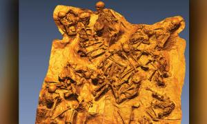 Víctimas encontradas en un fornici escondiéndose de la explosión del Vesubio Fuente: Rachelle Martyn et al, Antiquity.