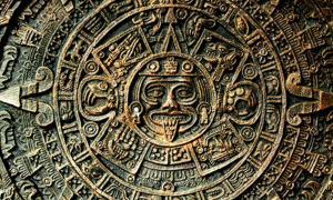 Piedra solar del calendario azteca, utilizada por los aztecas y otros pueblos precolombinos del centro de México y América Central