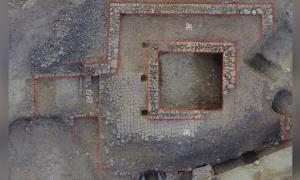 Foto tomada el 13 de enero de 2021 muestra un antiguo complejo de templos que data del estado de Nanzhao, una sociedad esclavista establecida durante la dinastía Tang (618-907 d.C.) en Dali, provincia de Yunnan, suroeste de China.