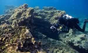 se han descubierto tres naufragios de la antigüedad y la Edad Media en la pequeña isla egea de Kasos. Fuente: Ministerio de Cultura / Facebook.