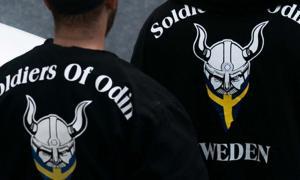 Soldados de Odin en Estocolmo 2016. (CC by SA 4.0)