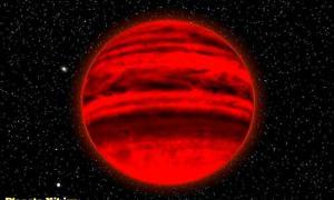 Portada - Ilustración del posible aspecto del planeta Nibiru. (Código Oculto)