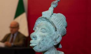 Según los informes, la estatua fue contrabandeada ilegalmente a México. Fuente: INAH
