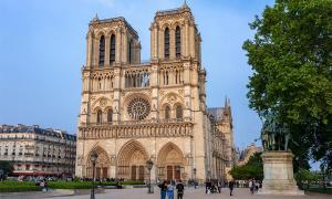 Intento de robo en la catedral de Notre-Dame, París. Fuente: Mistervlad / Adobe Stock