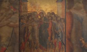 Obra maestra medieval 'Cristo burlado' por Cimabue Fuente: Eric Turquin Experts en Tableaux