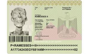 Una maqueta para la única momia con pasaporte.